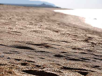 Россыпи золотого песка