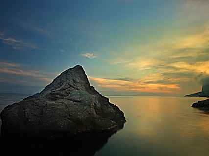 Закат в Ласпи