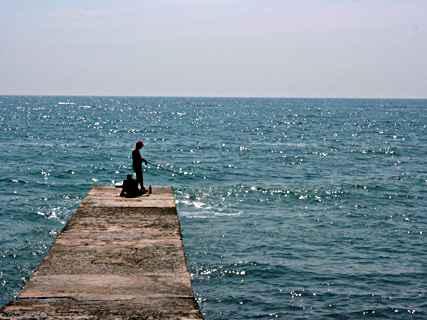 Кирилл на рыбалке