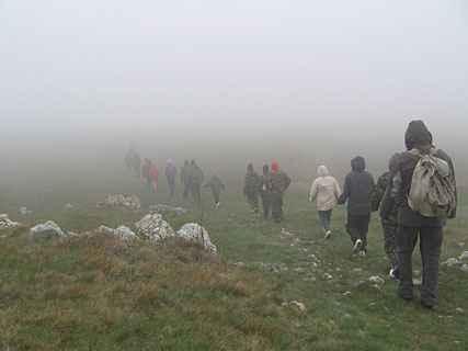 В тумане на Караби