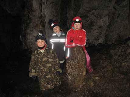 В пещере Мамина