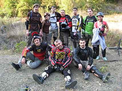 вело тур ALUSHTA CUP 2008