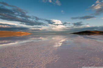 Закат на Кояшском озере