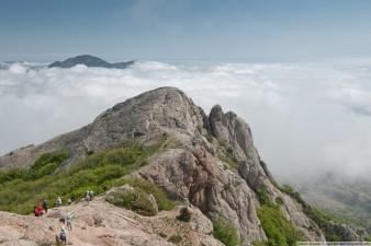 Вершины горы Эчки-Даг